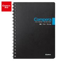 Comix 齐心 CPA6507 双螺旋PP面笔记本 A6/50张