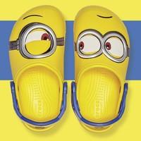 Crocs 卡骆驰 小黄人联名款儿童拖鞋