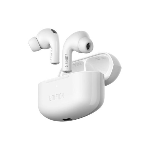 学生价:EDIFIER 漫步者 LolliPods Pro 入耳式真无线蓝牙降噪耳机 雪映白