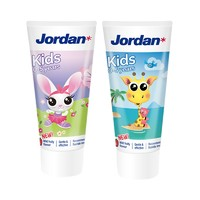 薇娅热播:Jordan 婴幼儿童水果味牙膏 双支装