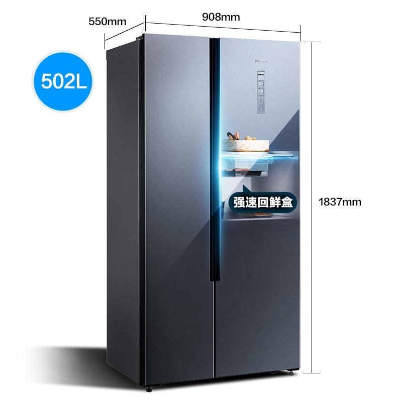 SIEMENS 西门子 NA43TI+1X40W  对开门冰箱+洗烘一体机