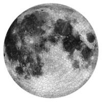Zhiqixiong 稚气熊 儿童圆形平面拼图玩具 1000片月球