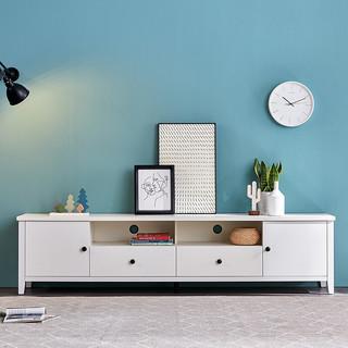 QuanU 全友 125805 实木框架储物电视柜 2.2米款