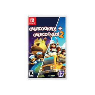 Nintendo 任天堂 Switch游戏卡带《胡闹厨房》1+2合集 中文