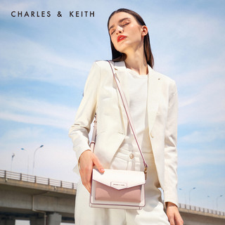 CHARLES & KEITH CK2-80680780-1 信封包单肩斜挎包
