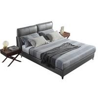 AIRLAND 雅兰 意式轻奢真皮软床 +任意床垫
