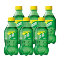 Sprite 雪碧 柠檬味汽水 300ml*6瓶