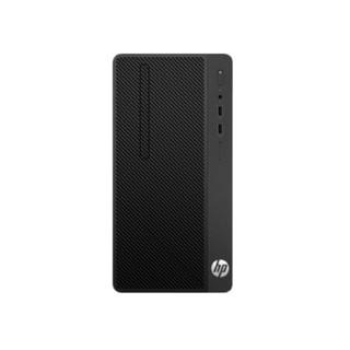 HP 惠普 282 Pro G4 MT 台式机 黑色(酷睿i3-9100、核芯显卡、4GB、1TB HDD、风冷)
