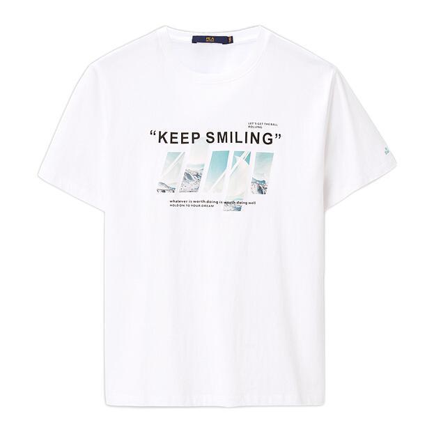 HLA 海澜之家 HNTBJ2D064A 男士短袖T恤
