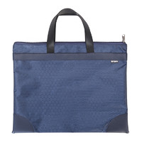 M&G 晨光 ABBN3047 A4手提会议包 蓝色纹 单个装