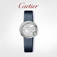 Cartier 卡地亚 Ballon Blanc白气球系列腕表 女士精钢镶钻手表