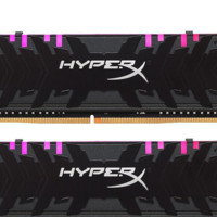 HYPERX Predator掠食者系列 DDR4 3200MHz RGB 黑色 台式机内存 16GB 8GB*2 HX432C16PB3AK2/16