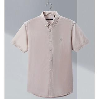 HLA 海澜之家 HNECJ2Q091A91 男士短袖衬衫