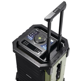 PHILIPS 飞利浦  SD80 双麦版 2.0声道 户外 蓝牙 音箱 绿色