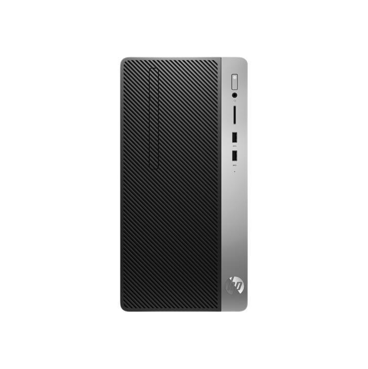 HP 惠普 战99 Pro G1 MT 台式机 黑色(酷睿i3-9100、核芯显卡、8GB、512GB SSD、风冷)