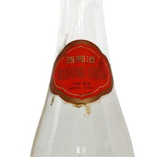 西凤酒 陈年老酒 80年代 52%vol 凤香型白酒 500ml 单瓶装