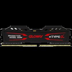 GLOWAY 光威 TYPE-α DDR4 3000MHz 石墨灰 台式机内存 8GB