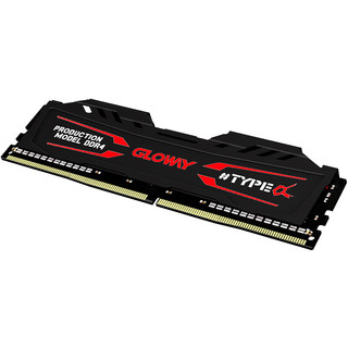 GLOWAY 光威 TYPE系列 TYPE-α DDR4 3200MHz 石墨灰 台式机内存 16GB 8GB*2
