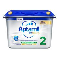 Aptamil 爱他美 白金版 较大婴儿奶粉 英国版 2段 800g