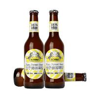 Zebra Craft 斑马精酿 柚子森林西柚果味啤酒 330ml*6瓶装