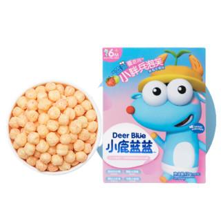 小鹿蓝蓝 高钙谷物水果泡芙 42g