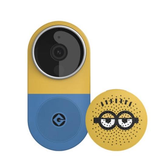 小白 智能视频门铃套装 小黄人版