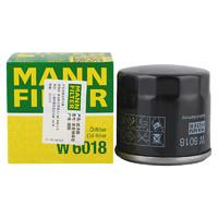 MANNFILTER 曼牌滤清器 W6018 机油滤清器