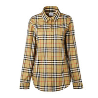 88VIP:BURBERRY 博柏利 8014010 格子衬衣女衬衫