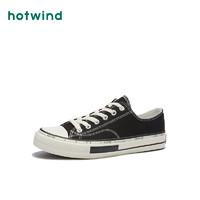 hotwind 热风 H14M0555  男士休闲帆布鞋