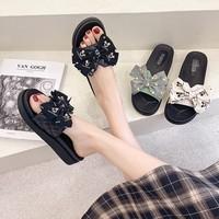巨烁 女生蝴蝶结拖鞋 款式可选