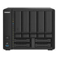 PLUS会员:QNAP 威联通 TS-932PX 9盘位NAS(AL324、4GB)