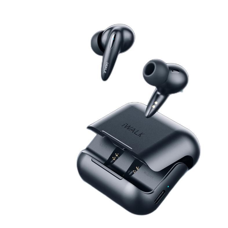 iWALK 爱沃可 BTA005 入耳式真无线蓝牙耳机 黑色