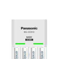 eneloop 爱乐普 K-KJ51MCC04C 充电电池 七号 4节装 含标准充电器