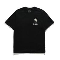 PERKS AND MINI 男士圆领短袖T恤 黑色 M