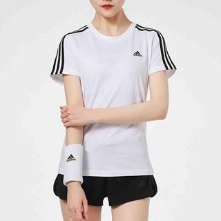 adidas 阿迪达斯 夏季新款阿迪达斯女子T恤运动服跑步上衣圆领短袖T恤女装