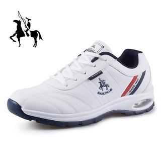 保罗男鞋2021春季新款运动鞋男士休闲鞋子男旅游鞋男大码潮流透气