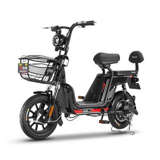 TAILG 台铃 GL5 新国标电动自行车 TDTC03Z 48V12Ah锂电池 钢琴黑 国标版