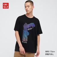 UNIQLO 优衣库 卢浮宫博物馆 437654 男女装印花T恤