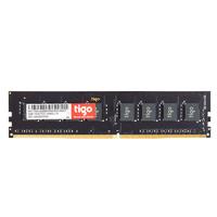 tigo 金泰克 磐虎系列 DDR4 2666MHz 台式机内存 黑色 8GB