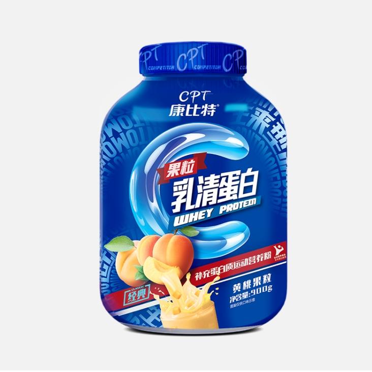 限学生用户 : CPT 康比特 乳清蛋白粉 黄桃果粒味 30g