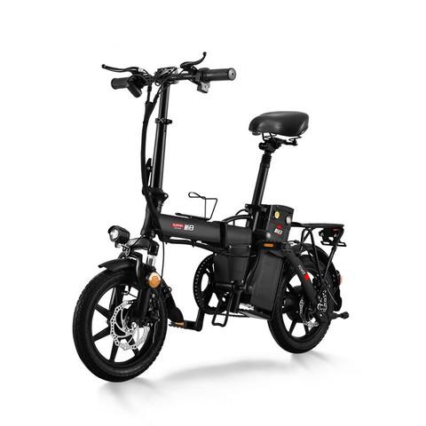 SUNRA 新日 轻活系列 H1 电动自行车 TDSZH-206 48V14Ah锂电池 哑光摩力黑