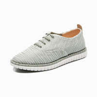 Clarks 其乐 MZT Blithe系列 26133515 女士平底帆布鞋