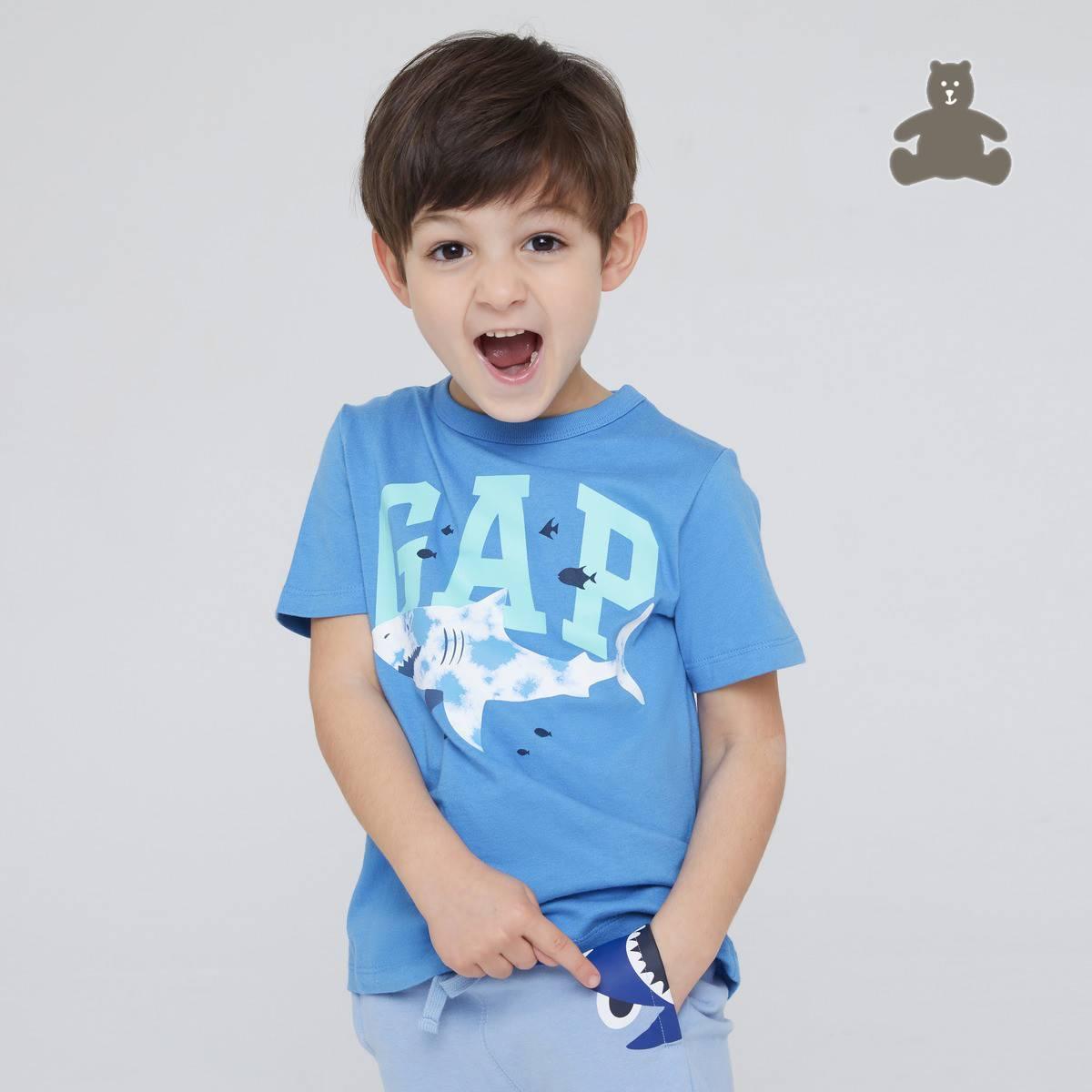 Gap 盖璞 布莱纳系列 儿童纯棉短袖T恤