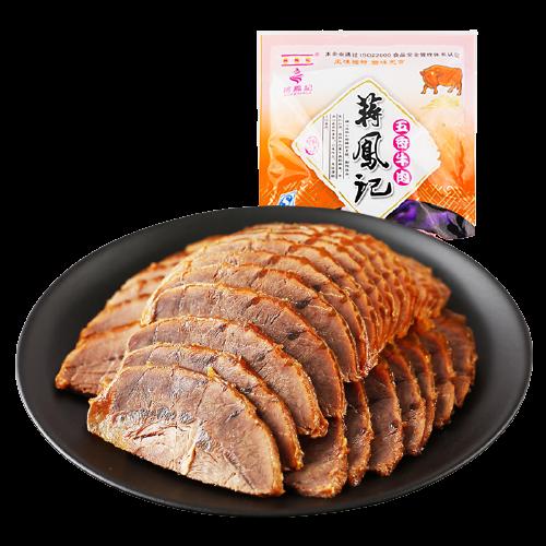 蒋凤记 五香酱牛肉 200g*4袋