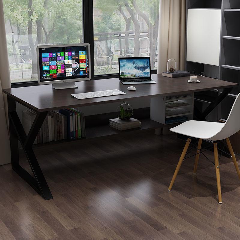 电脑台式桌子卧室家用简约学生写字桌书桌台简易长方形办公桌