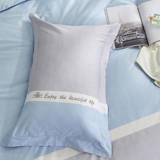 60支全棉缎纹品牌花卉设计床上用品四件套