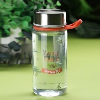 LOCK&LOCK 乐扣乐扣 400ml/520ml森林复古系列时尚便携提绳运动塑料水杯