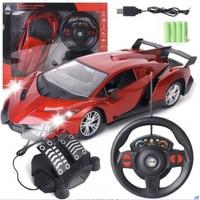 abay 电动遥控车儿童玩具赛车模型可充电汽车小男孩