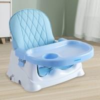 babyhood 世纪宝贝 儿童餐椅 蓝色(+浴桶+坐便器+小凳子,订单152.3元)