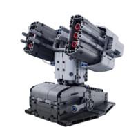 MI 小米 木星黎明系列积木 智能积木 天蝎座防御塔 灰色